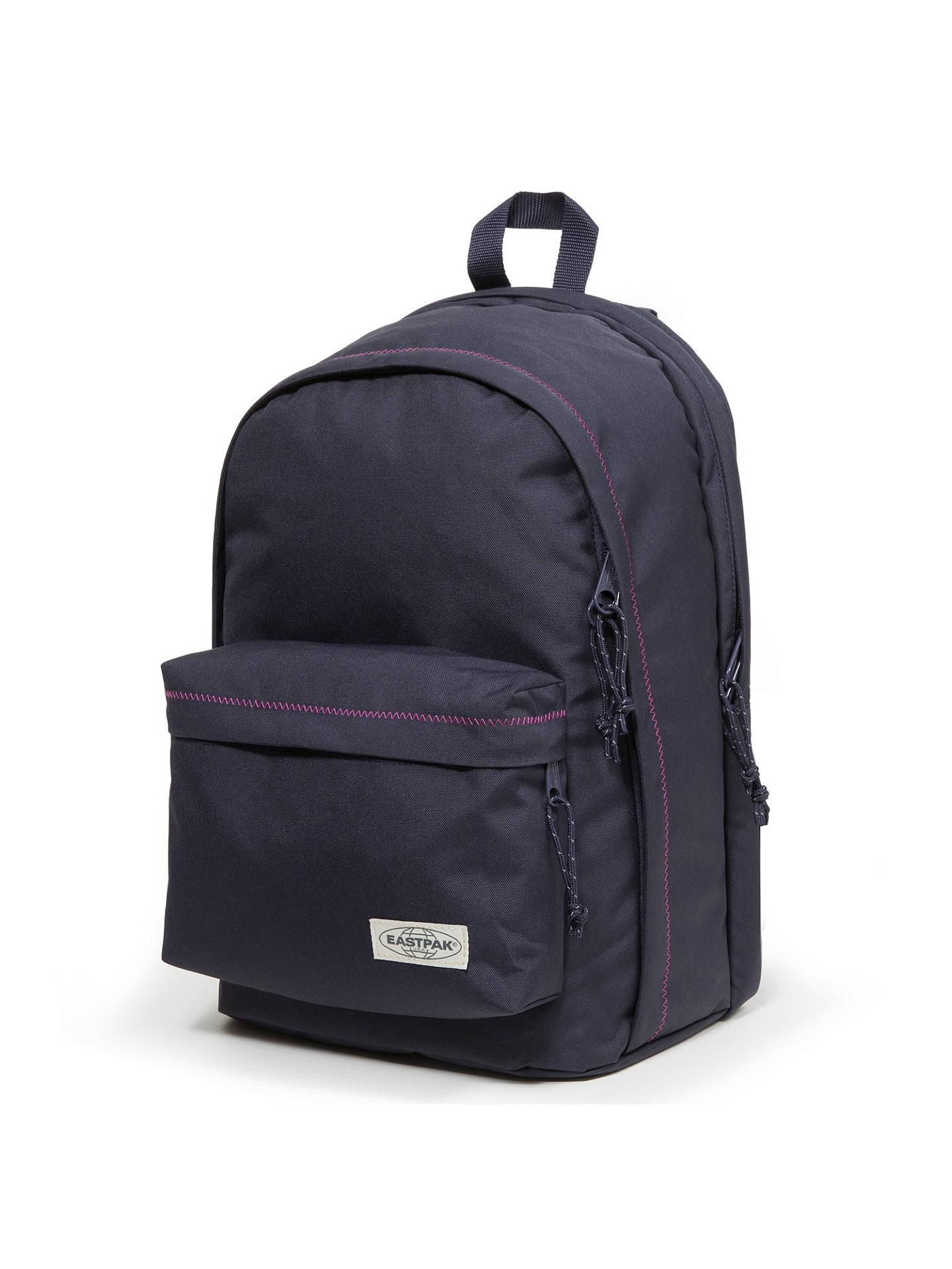8dde34d67e ... Buy Eastpak Back to Work Backpack, Navy Stitched Online at  johnlewis.com ...