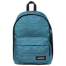 Buy Eastpak Out Of Office Backpack, Knit Blue Online at johnlewis.com