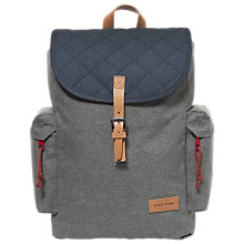 Buy Eastpak Austin Backpack, Quilt Grey Online at johnlewis.com