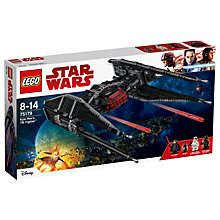 Buy LEGO Star Wars The Last Jedi 75179 Kylo Ren's TIE Fighter Online at johnlewis.com