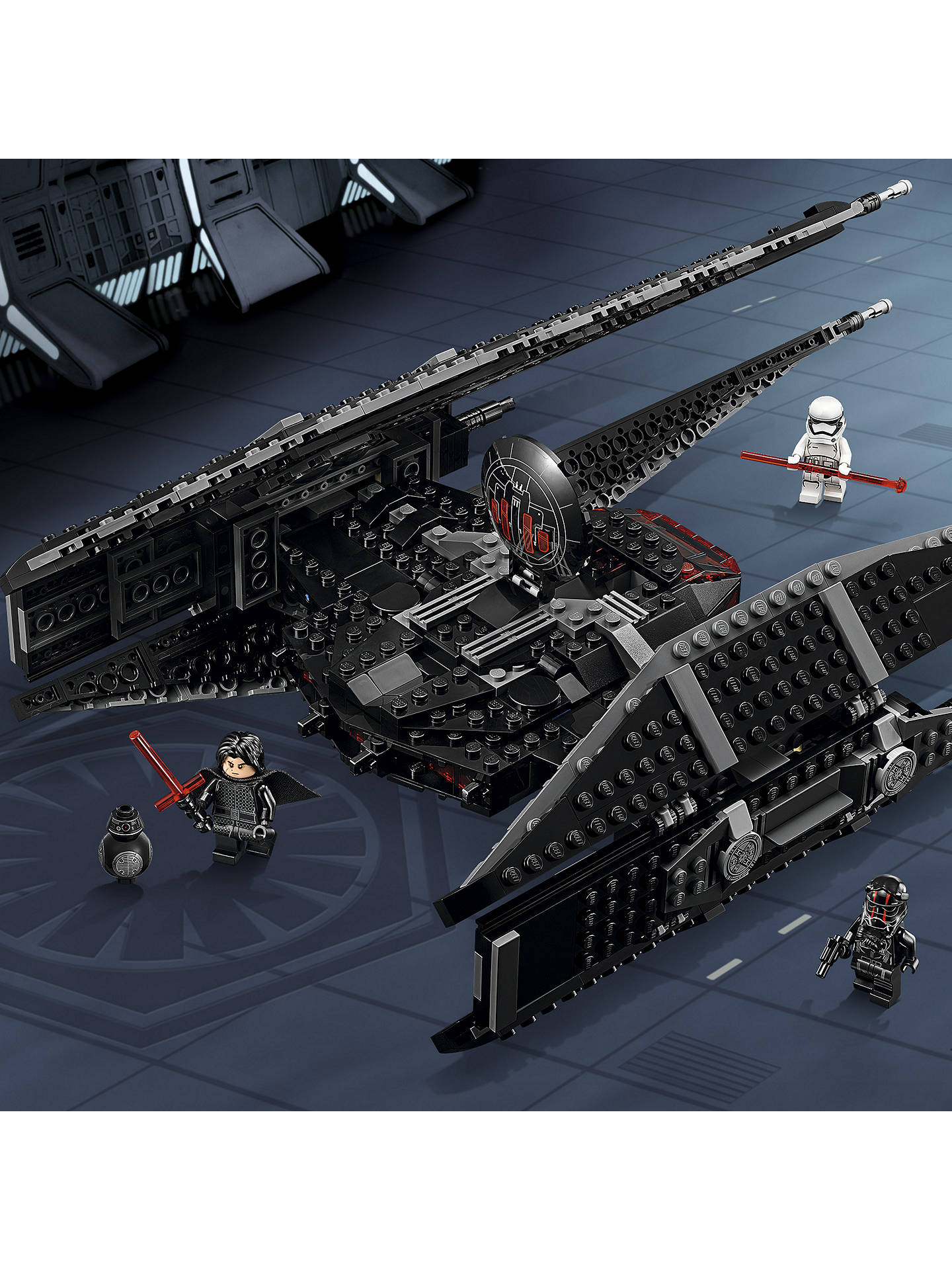 BuyLEGO Star Wars The Last Jedi 75179 Kylo Ren's TIE Fighter Online at johnlewis.com