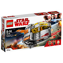 Buy LEGO Star Wars The Last Jedi 75176 Resistance Transport Pod Online at johnlewis.com