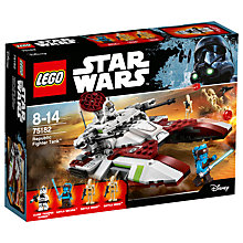 Buy LEGO Star Wars 75182 Republic Fighter Tank Online at johnlewis.com