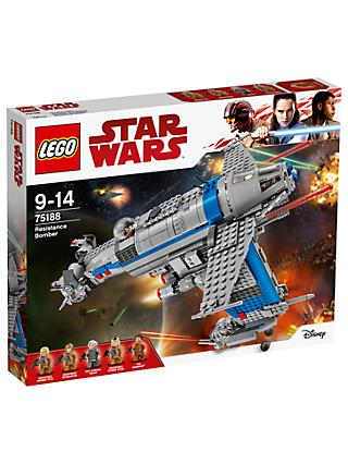LEGO Star Wars The Last Jedi 75188 Resistance Bomber