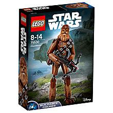 Buy LEGO Star Wars The Last Jedi 755530 Chewbacca Online at johnlewis.com