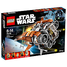 Buy LEGO Star Wars 75178 Jakku Quadjumper Online at johnlewis.com