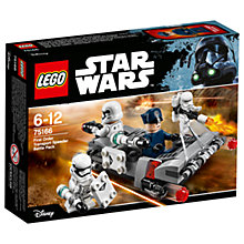Buy LEGO Star Wars 75166 First Order Transport Speeder Battle Pack Online at johnlewis.com