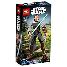 Buy LEGO Star Wars The Last Jedi 75526 Rey Online at johnlewis.com