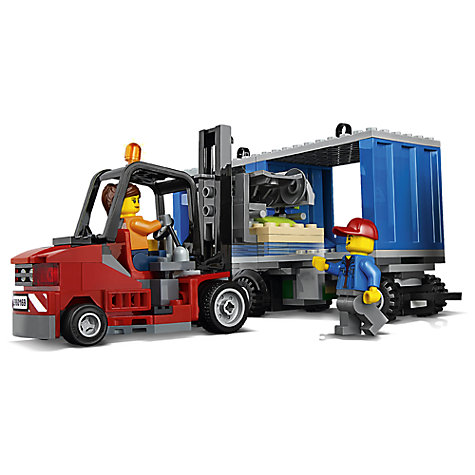 buy lego city 60169 cargo terminal john lewis. Black Bedroom Furniture Sets. Home Design Ideas