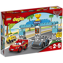 Buy LEGO DUPLO Disney Pixar Cars 3 10857 Piston Cup Race Online at johnlewis.com