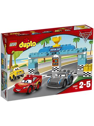 LEGO DUPLO Disney Pixar Cars 3 10857 Piston Cup Race