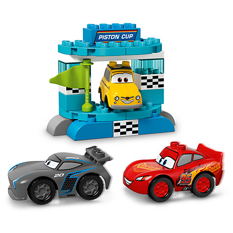 Buy LEGO DUPLO Disney Pixar Cars 3 10857 Piston Cup Race | John Lewis