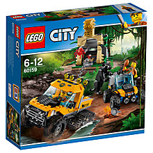 Buy LEGO City 60159 Jungle Halftrack Mission Online at johnlewis.com