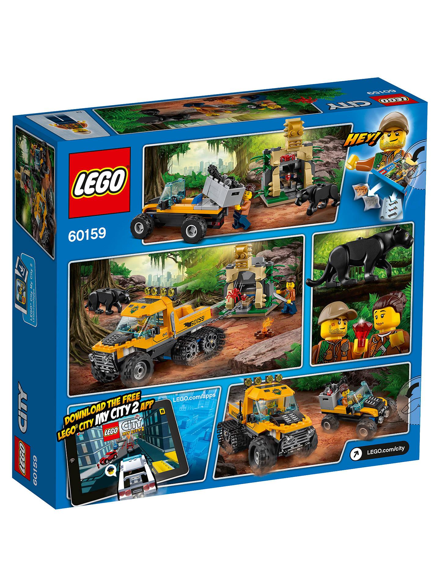 4acd15428584 ... Buy LEGO City 60159 Jungle Halftrack Mission Online at johnlewis.com ...