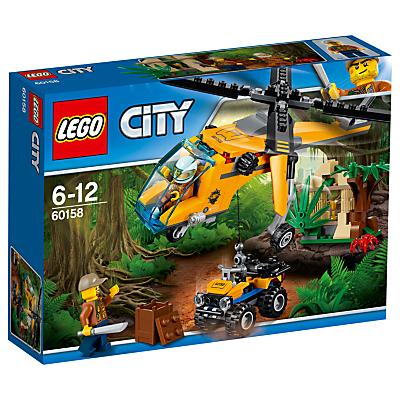 Image of LEGO City 60158 Jungle Cargo Helicopter