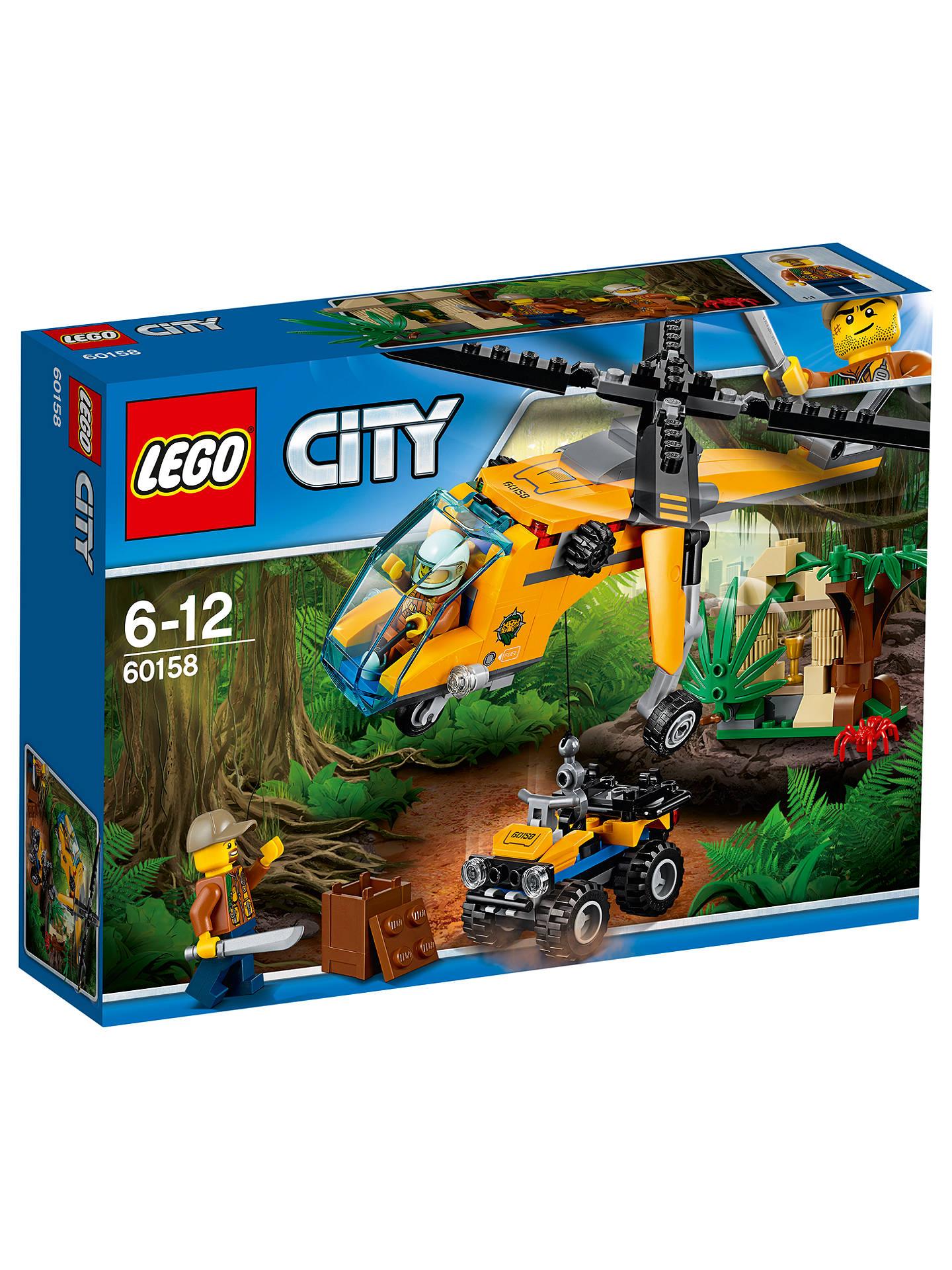 lego city 60158 jungle cargo helicopter at john lewis. Black Bedroom Furniture Sets. Home Design Ideas