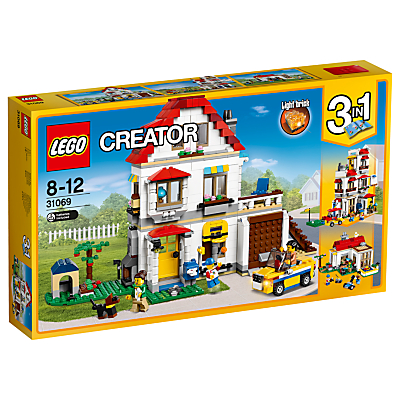 Product photo of Lego creator 31069 3in1 family villa