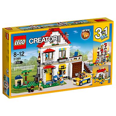 Product photo of Lego creator 31069 3in1 family villa