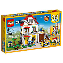 Buy LEGO Creator 31069 3-in-1 Family Villa Online at johnlewis.com