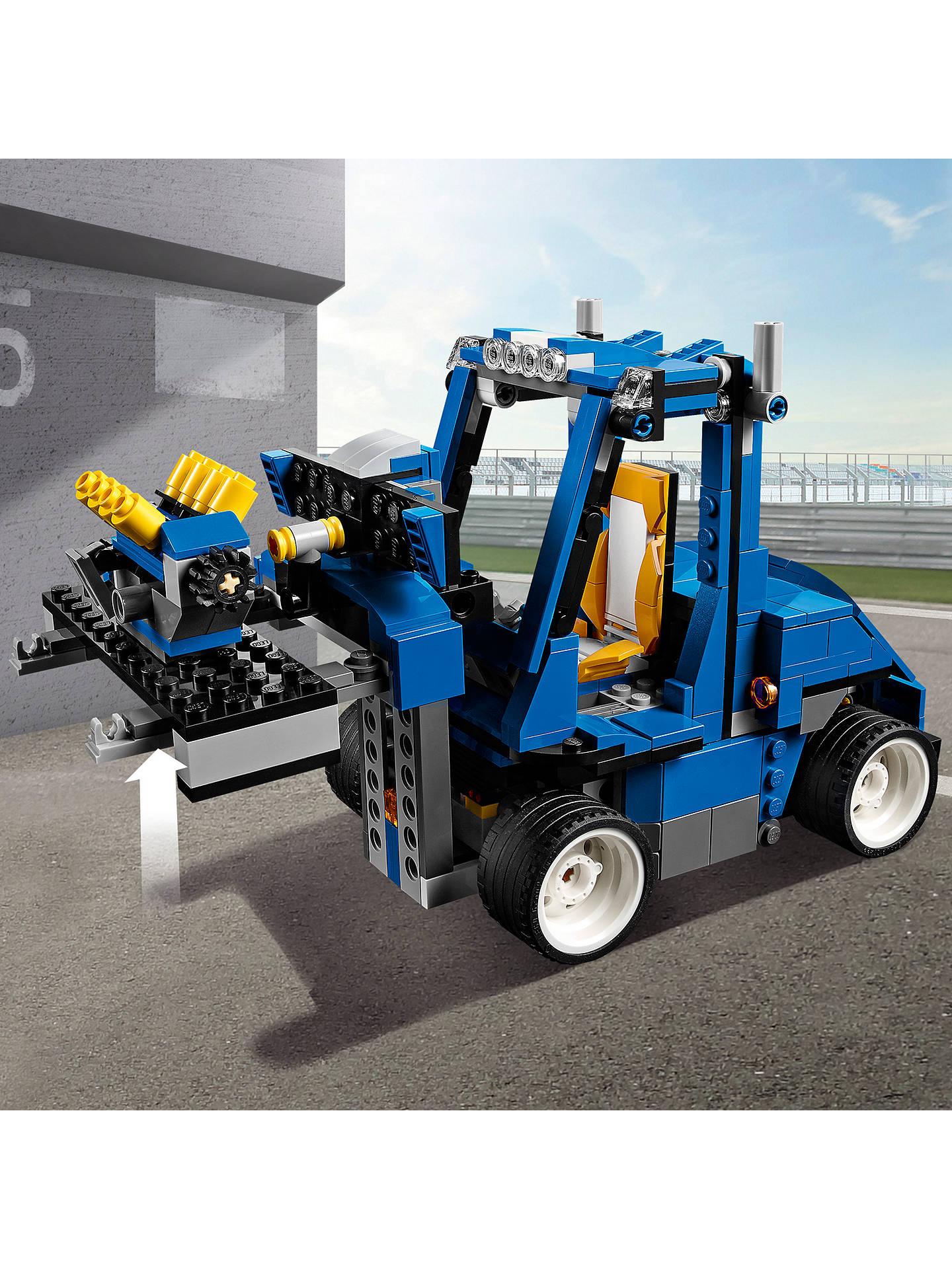 Lego Creator 31070 Turbo Track Racer At John Lewis Partners