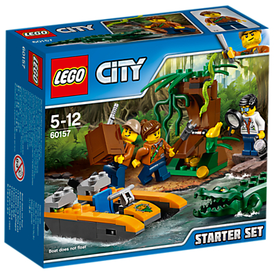 Image of LEGO City 60157 Jungle Starter Set