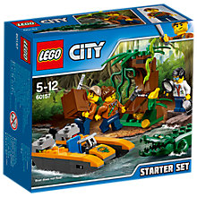 Buy LEGO City 60157 Jungle Starter Set Online at johnlewis.com