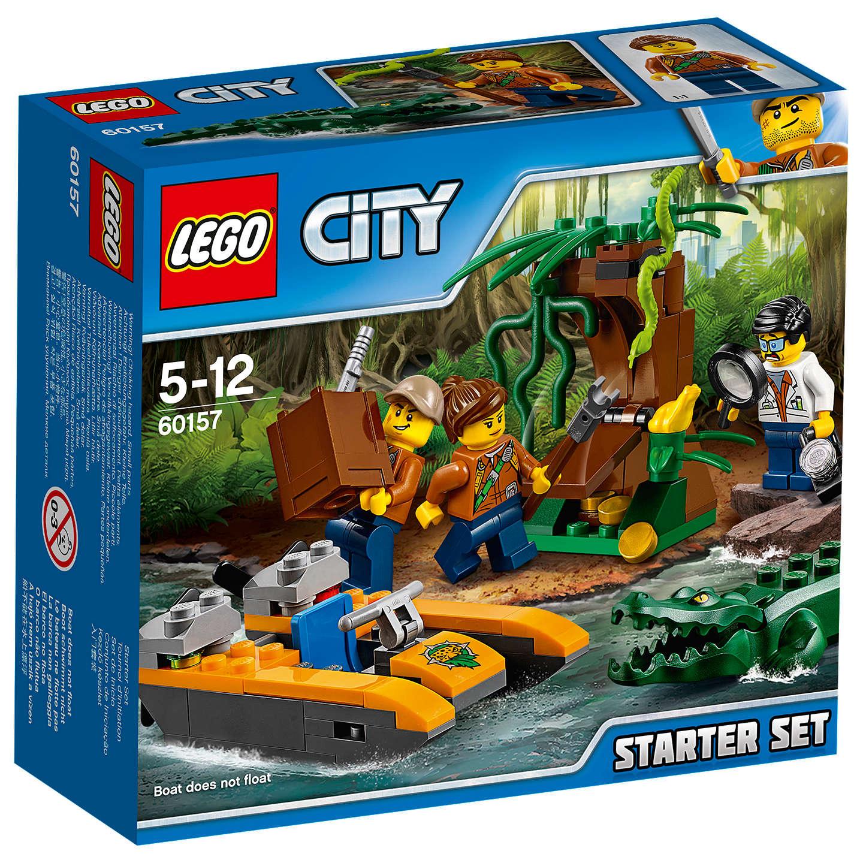buylego city 60157 jungle starter set online at johnlewiscom - Lego City Bateau