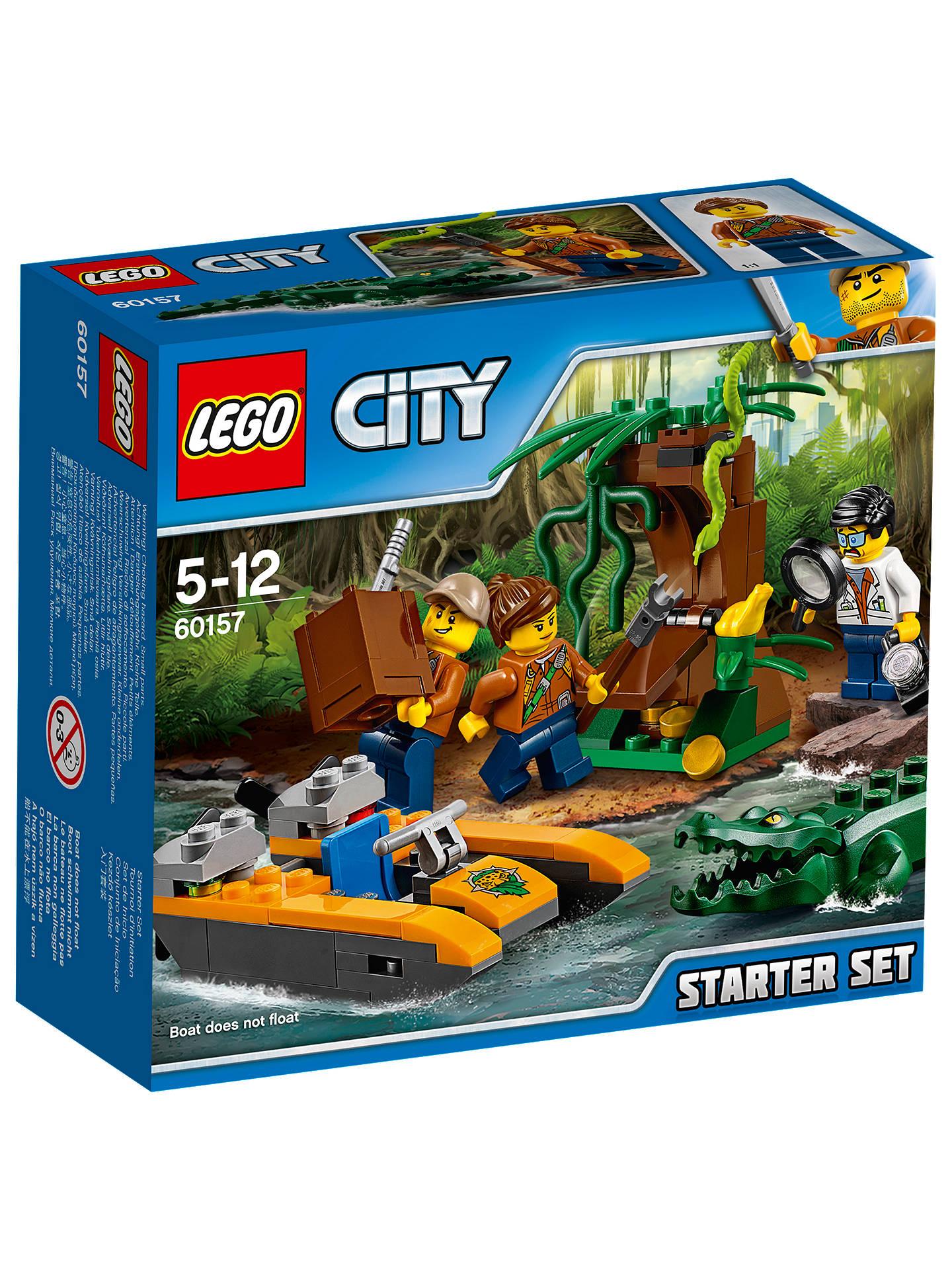 lego city 60157 jungle starter set at john lewis partners. Black Bedroom Furniture Sets. Home Design Ideas