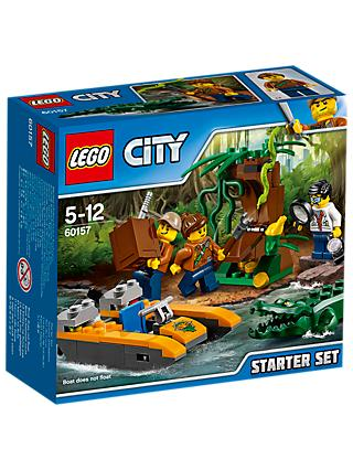 LEGO City 60157 Jungle Starter Set