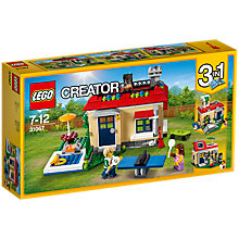 Buy LEGO Creator 31067 3-in-1 Poolside Holiday Online at johnlewis.com
