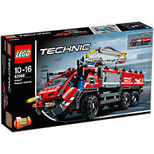 Buy LEGO Technic 42068 Airport Rescue Vehicle Online at johnlewis.com