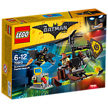 Buy LEGO The LEGO Batman Movie 70913 Scarecrow Fearful Face Off Online at johnlewis.com