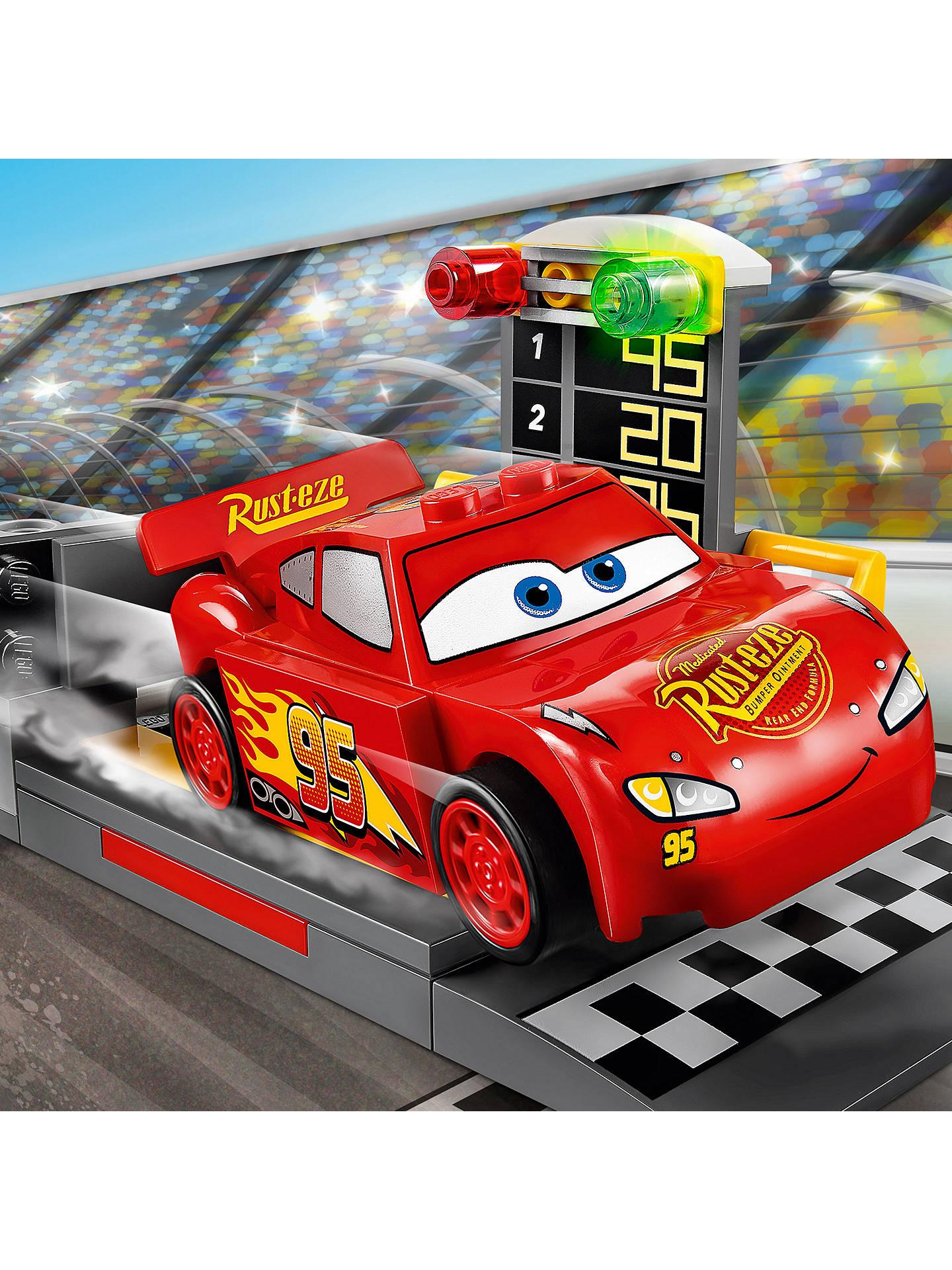 Lego Juniors 10730 Disney Pixar Cars 3 Lightning Mcqueen Speed Launcher At John Lewis Partners