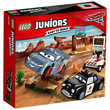 Buy LEGO Juniors 10742 Disney Cars Willy's Butte Speed Training Online at johnlewis.com