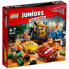 Buy LEGO Juniors Disney Pixar Cars 3 10744 Thunder Hollow Race Online at johnlewis.com