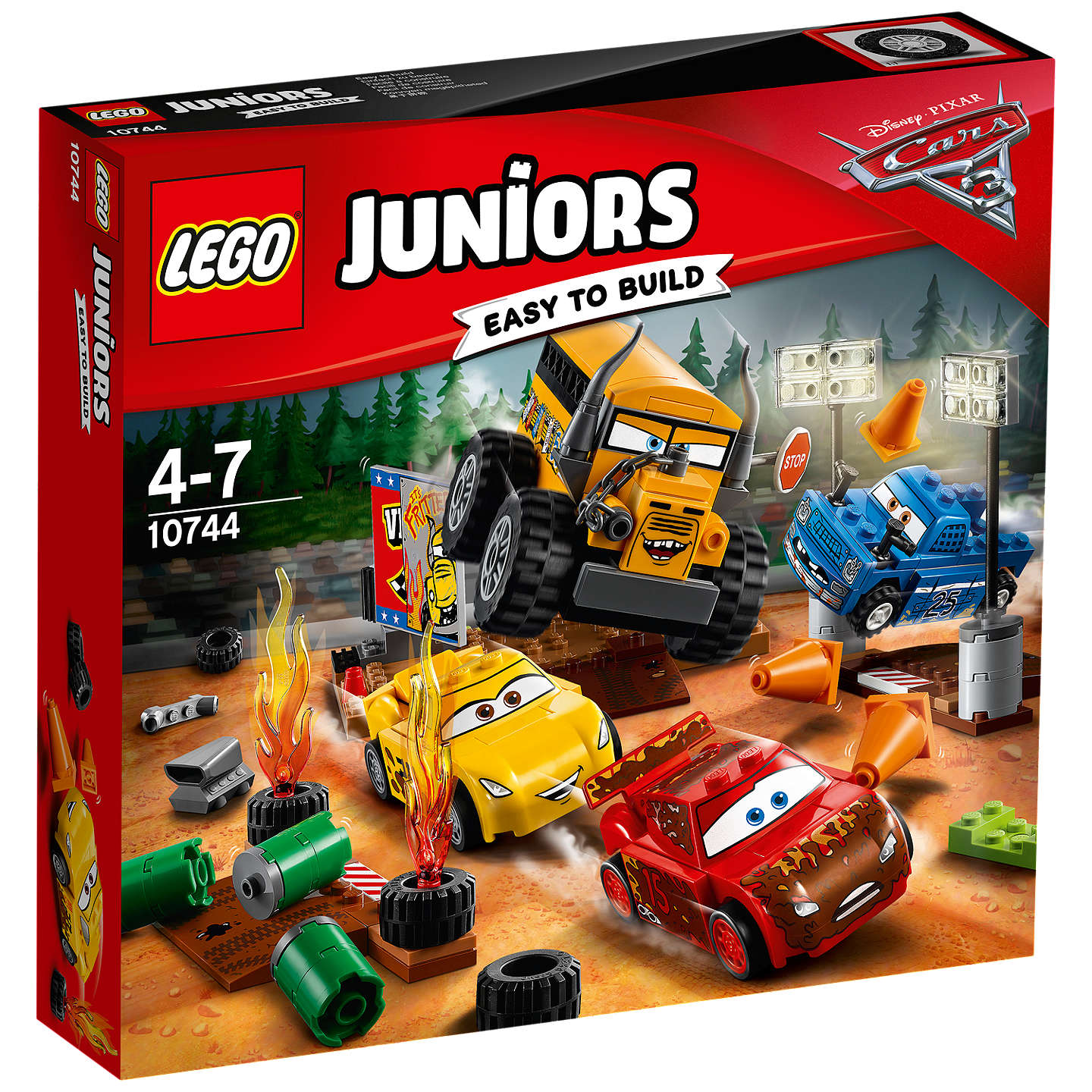 Beautiful BuyLEGO Juniors Disney Pixar Cars 3 10744 Thunder Hollow Race Online At  Johnlewis.com ...