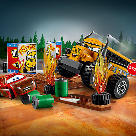 Buy lego juniors disney pixar cars 3 10744 thunder hollow race john lewis - Coloriage cars 3 thunder hollow ...