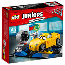 Buy LEGO Juniors 10731 Disney Cars Cruz Ramirez Race Simulator Online at johnlewis.com