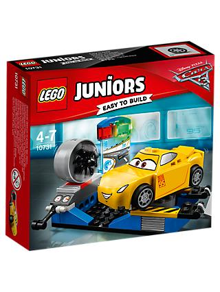 LEGO Juniors 10731 Disney Pixar Cars 3 Cruz Ramirez Race Simulator