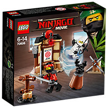 Buy LEGO Ninjago 70606 Spinjitzu Training Online at johnlewis.com