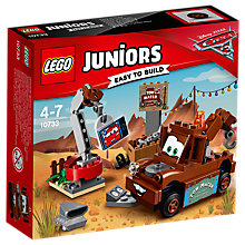 Buy LEGO Juniors 10733 Disney Pixar Cars 3 Mater's Junkyard Online at johnlewis.com