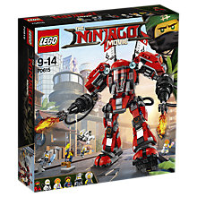 Buy LEGO Ninjago 70615 Fire Mech Online at johnlewis.com