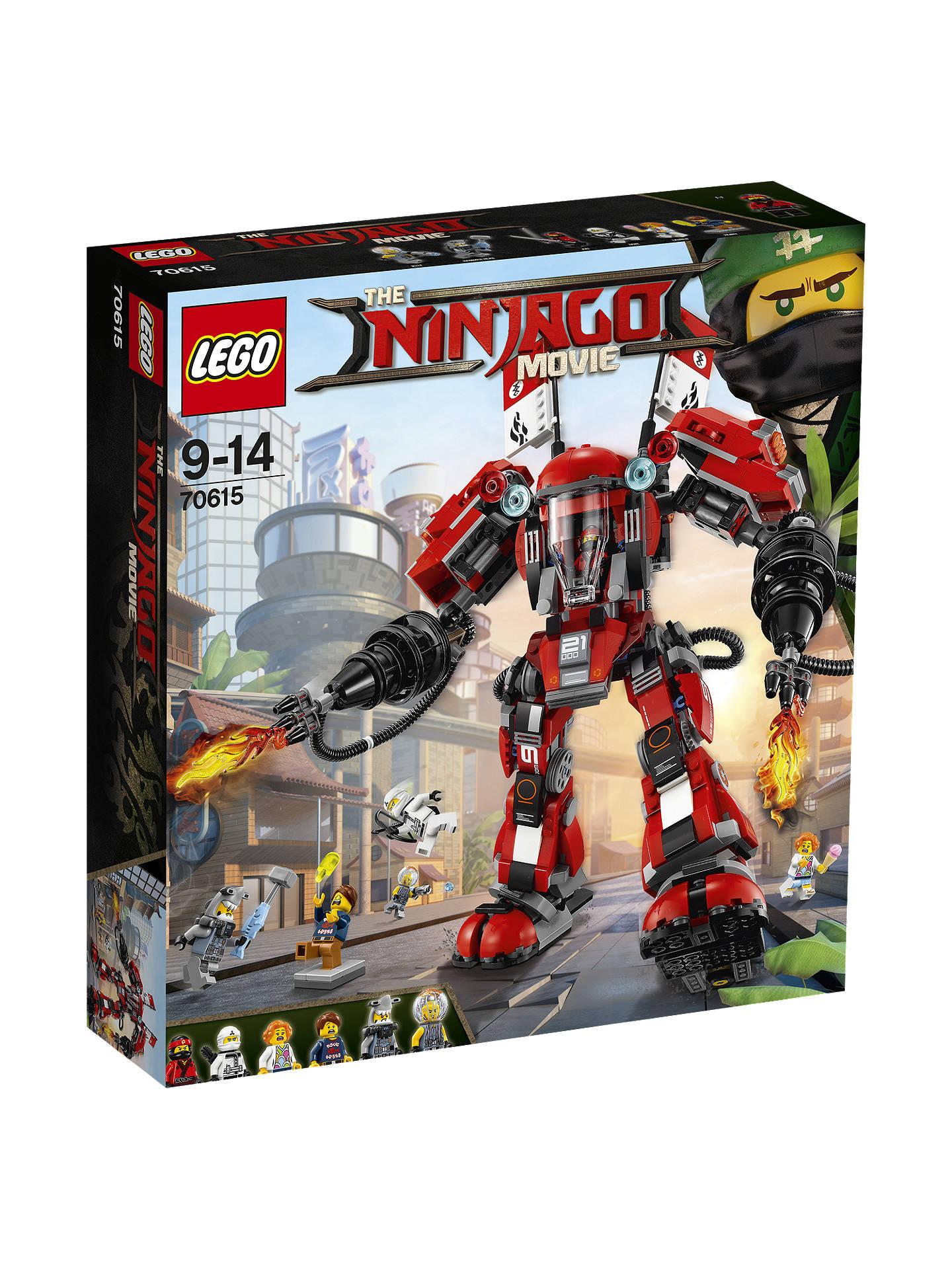 Lego Ninjago 70615 Fire Mech At John Lewis Partners