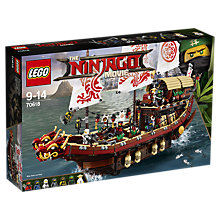 Buy LEGO Ninjago 70618 Destiny's Bounty Online at johnlewis.com