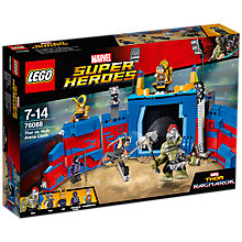 Buy LEGO Super Heroes 76088 Thor vs Hulk Arena Clash Online at johnlewis.com