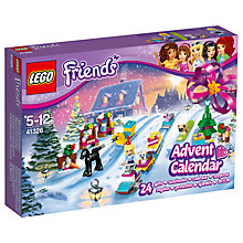 Buy LEGO Friends 41326 Advent Calendar Online at johnlewis.com