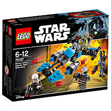 Buy LEGO Star Wars 75167 Bounty Hunter Speeder Bike Battle Pack Online at johnlewis.com