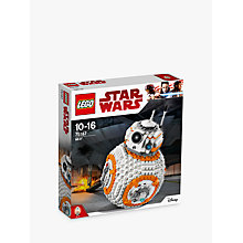 Buy LEGO Star Wars The Last Jedi 75187 BB-8 Online at johnlewis.com