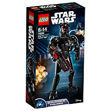 Buy LEGO Star Wars The Last Jedi 75526 Elite TIE Fighter Pilot Online at johnlewis.com