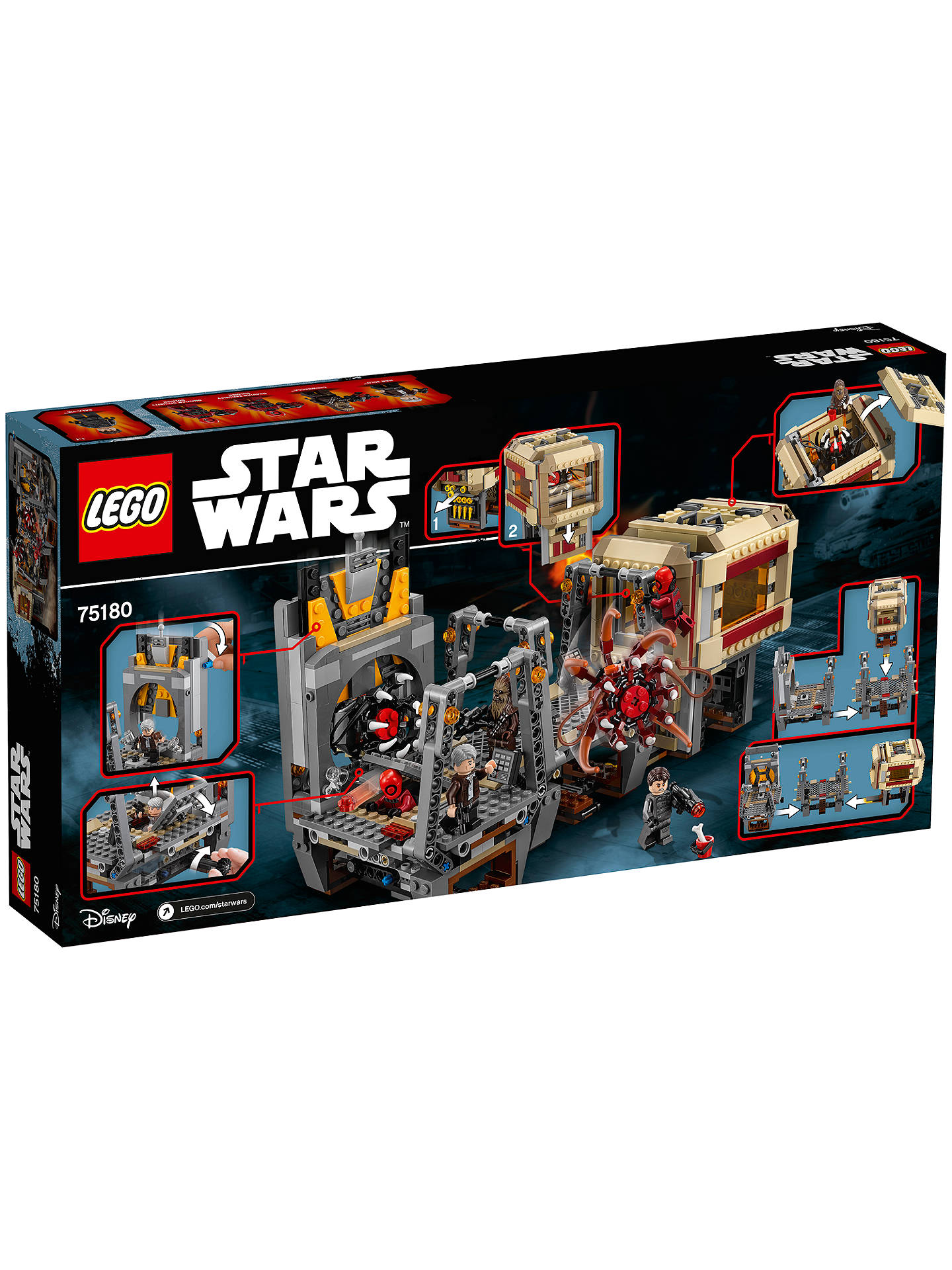 Lego Star Wars Rathtar Escape 75180 NEW